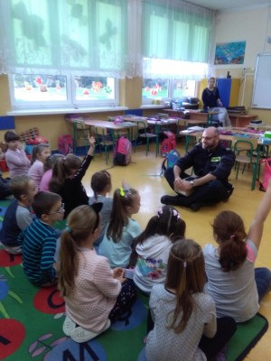 Spotkanie ze strażnikiem miejskim (1)