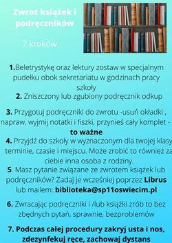 Zwrot książek ipodręczników4