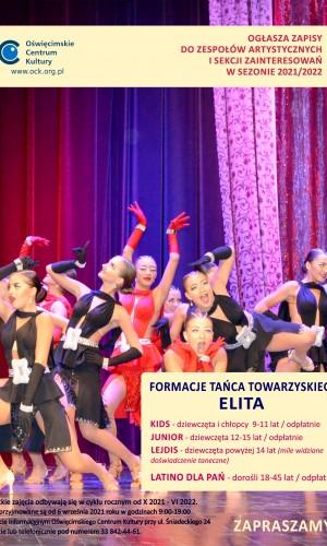 Taniec Elita plakat